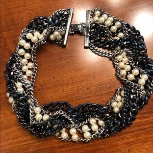 J. Crew Mixed Metals Necklace